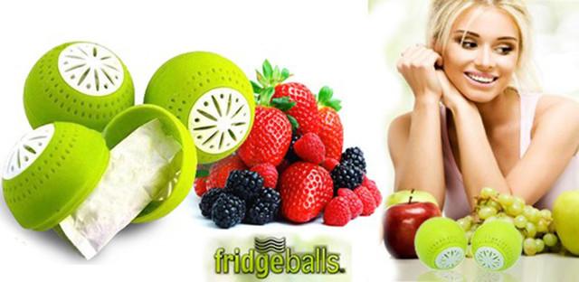 Шарики для устранения запаха в холодильнике Fridge Balls