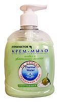 Жидкое крем-мыло Фитодоктор Оливки и увлажняющее молочко Смягчающее - 300 мл.