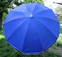 Зонт круглый, торговый, садовый 2,2м. Прочный зонт для торговли, для пляжа!
