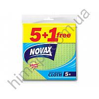 Универсальные салфетки Novax, 5+1шт