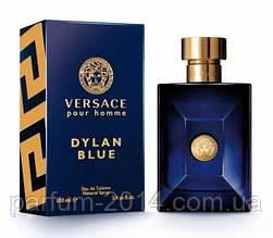 Чоловіча туалетна вода версаче ділан блю Versace Pour Homme Dylan Blue (осіб) одеколон парфум аромат парфуми