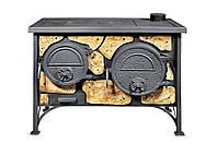 Печь-кухня с варочной плитой и духовкой Эктор 11 кВт