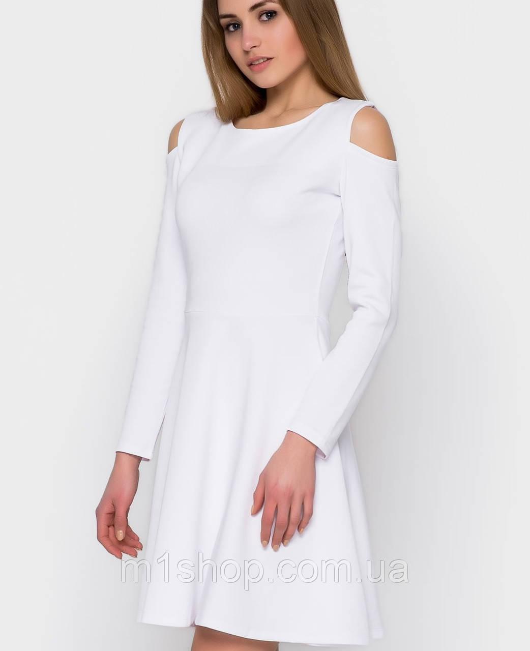 Платье с открытыми плечами | Anri sk