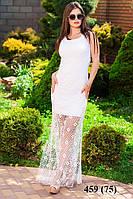 Вечернее летнее платье с люрексом 459 (75)