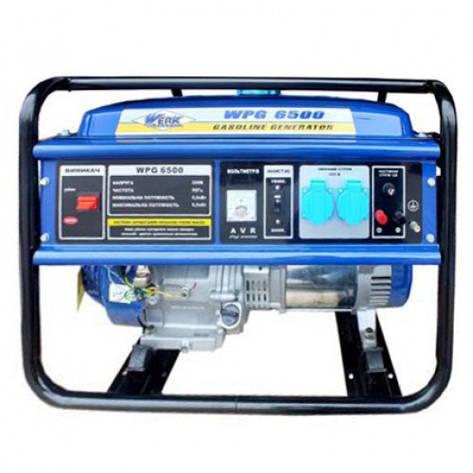 Генератор бензиновый WERK WPG8000, фото 2