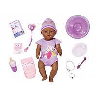 Пупс Baby Born Zapf Creation Интерактивный негритенок для куклы беби бон