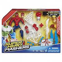 Улучшенная фигурка Человека-Паука серии Hero Mashers Hasbro  B0679 B0677