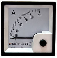 Амперметр прямого включения AC 30А 96х96 АСКО-УКРЕМ A-96-6 A0190010091