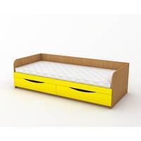 Кровать одноместная с ящиками