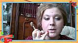 Массажер нефритовый для лица валик двойной, фото 3