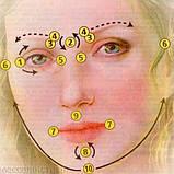 Массажер нефритовый для лица валик двойной, фото 5
