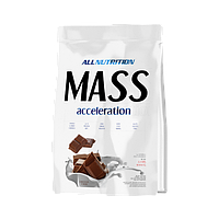 Гейнер Mass accelerotion 1 кг AllNutrition латте