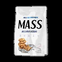 Гейнер Mass accelerotion 1 кг AllNutrition шоколадное печенье