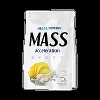 Гейнер Mass accelerotion 1 кг AllNutrition банан