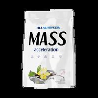 Гейнер Mass accelerotion 1 кг AllNutrition ваниль