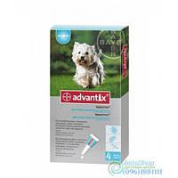 Bayer Advantix Защита От Блох И Клещей Для Собак 4-10Кг 1 Пипетка