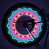 Красочная LED подсветка колес LC-D016, 32 светодиода, 32 рисунка, фото 7