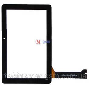 Тачскрин (сенсорный экран) Asus MeMO Pad 10 ME102A K00F (p/n:MCF-101-0990-01-FPC-V2.0) черный, фото 2