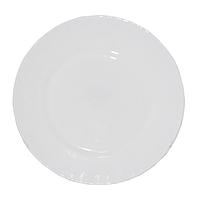 Тарелка стеклокерамика 20 см Белая SNT 30057-02-00