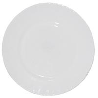 Тарелка стеклокерамика 23 см Белая SNT 30058-00