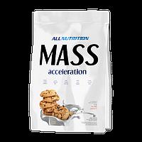 Гейнер Mass accelerotion 3 кг AllNutrition печенье шоколадное
