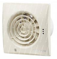 Вентс 100 Квайт ТН, осевой бытовой вентилятор низкого уровня шума