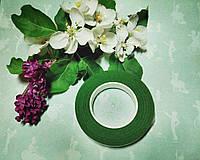 Тейп-лента флористическая зеленый основной, 10 мм