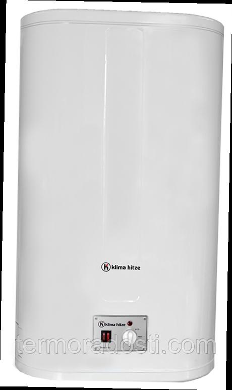 Бойлер Klima hitze (80л) с сухим тэном Flat Dry FUD 8020/2h MR (электрический водонагреватель)