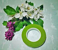 Тейп-лента зеленый оливковый, 10мм толщина, 10м длина