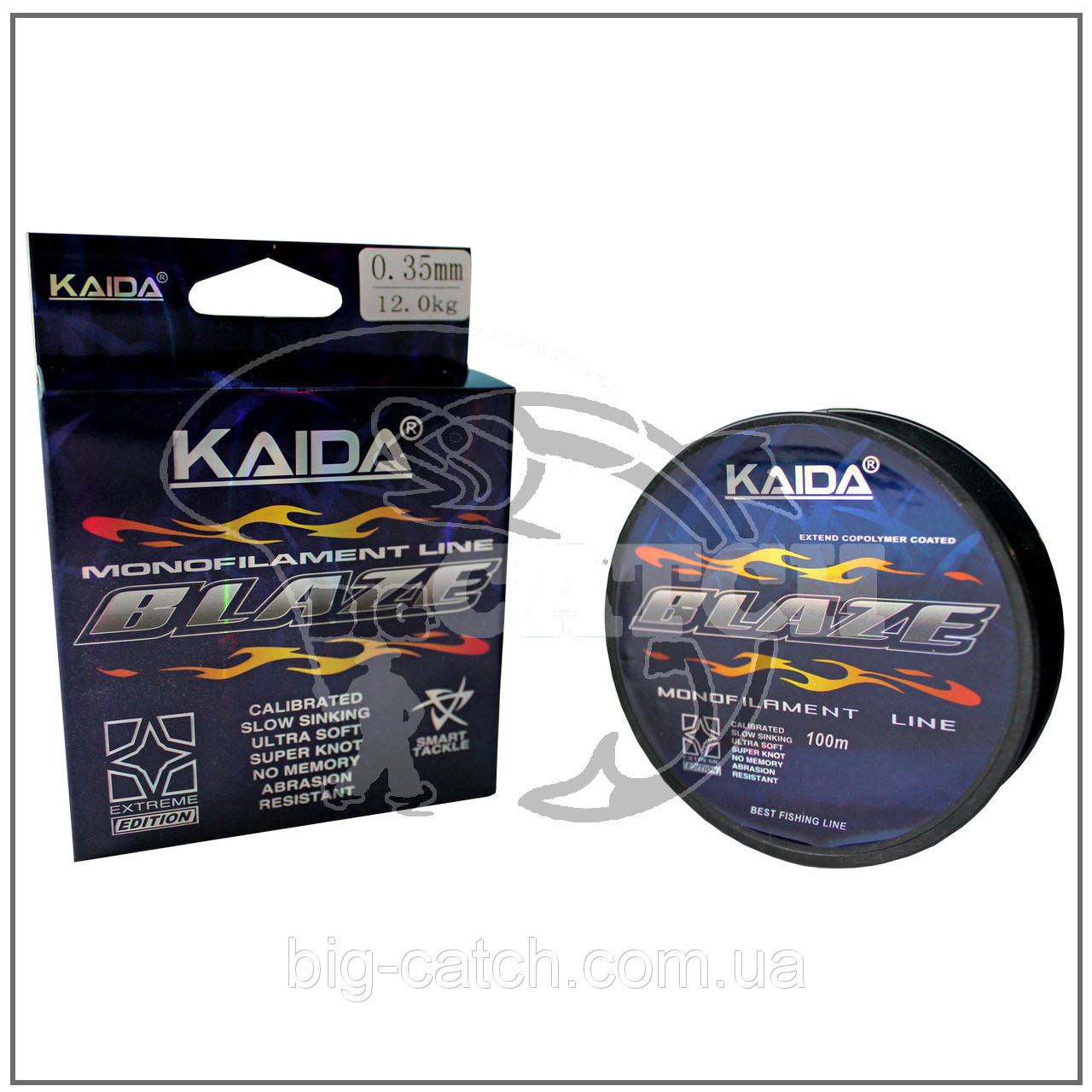 Леска Kaida Blaze 100м. разные размеры