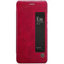 Чехол книжка Nillkin Qin Series View Smart для Huawei P10 красный