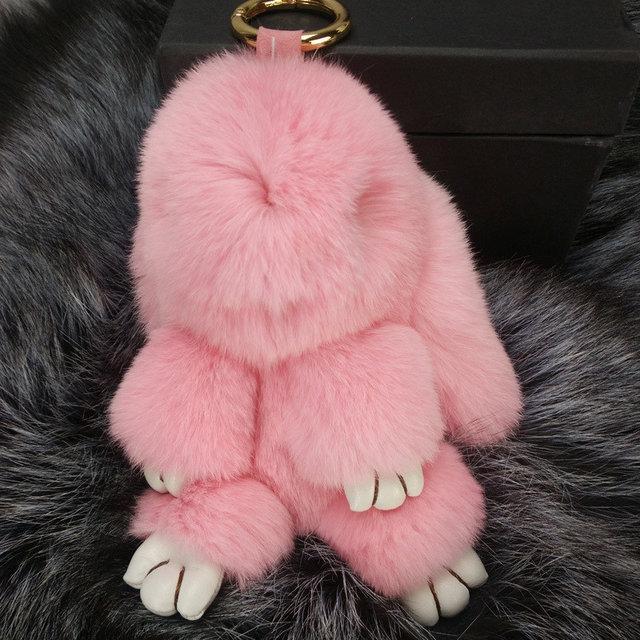 Брелок Зайка розовый
