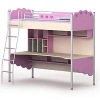 Серия «Pink» Кровать-чердак