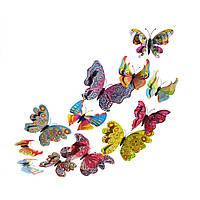 Бабочки для декора 5D, для дома, DIY multi