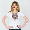 Вышивка на футболках - Маки крестиком, фото 4