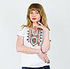Вышивка на футболках - Маки крестиком, фото 5