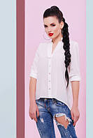 Стильная женская блуза Michelle молоко Fashion UP 42-48 размеры
