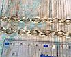 Цепочка для сумки, белое золото, размер 1,2х12х8мм, фото 3