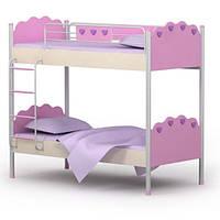 Серия «Pink» Кровать двухъярусная