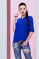 Стильная женская блуза Michelle электрик Fashion UP 42-48 размеры