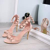 Босоножки женские Olivia пудра, летняя обувь