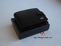 Мужское портмоне Kingplum кошелек черный Из Натуральной Кожи