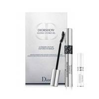 DIOR набор тушь Diorshow Iconic Overcurl черная, база для туши Diorshow Maximizer 3D  № 090, black, 1