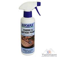 Водоотталкивающий спрей для обуви Nikwax Fabric & leather spray 300мл (ткань и кожа)