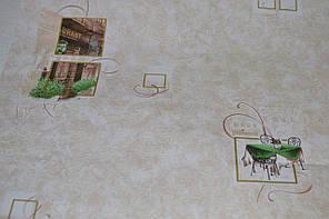 Обои на стену, минимум рисунка, бежевый, бумажные,  0,53*10м, ограниченное количество, фото 3