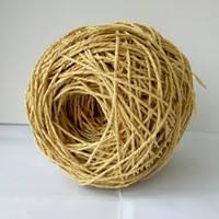 Рафия соломка для вязания шляп и сумок цвет песочный, фото 1