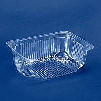 Упаковка с крышкой для салатов, полуфабрикатов и соусов ПС-141, 180*130*60, упаковка 600шт, (2,68 грн/шт)