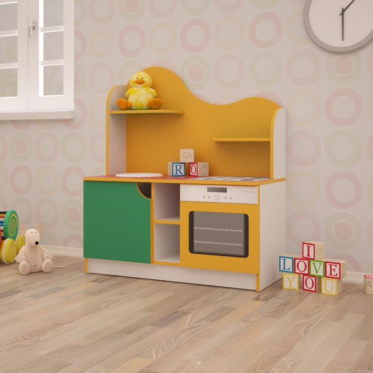 Детская игровая кухня Хозяюшка 950*430*1100h, фото 1