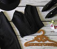 Трендовый корсет в костюмном стиле с эффектным вырезом и шнуровкой  JC1865