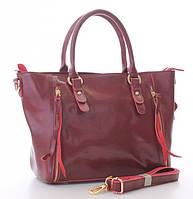Женская кожаная сумка 1016 RED. Женские сумки из натуральной кожи купить дешево в Одессе